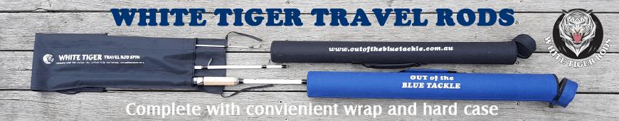 White Tiger Travel Fishing Rods