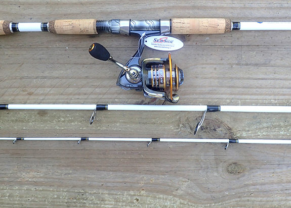 White Tiger Spin Travel Rod with Sea Side SW-CL2000