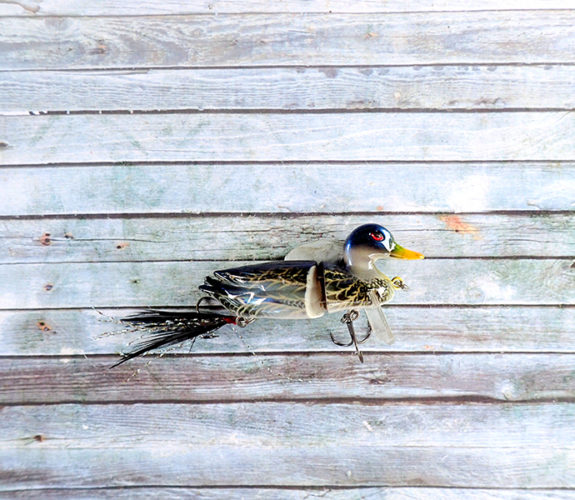 Duck Sitting Surface Lure Blue
