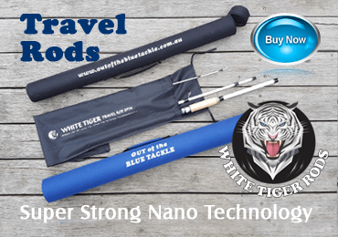 White Tiger Travel Rods