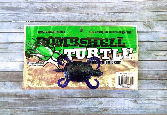 Bomshell-Turtle Lure June Bug