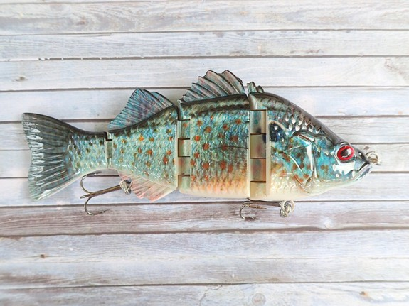 OBT Swimbait Blue Barra
