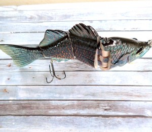 OBT Swimbait Black Barra
