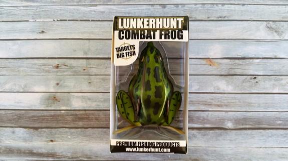 Lunkerhunt Combat Frog Fox Trot