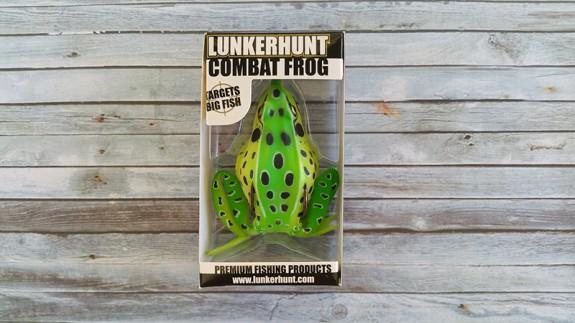 Lunkerhunt Combat Frog Leopard