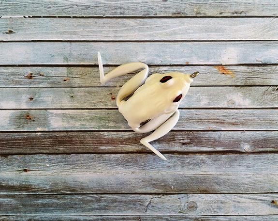 Lunkerhunt Lunker Frog Pearl