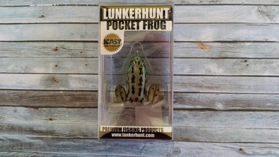 Lunkerhunt Pocket Frog Rocky Toad