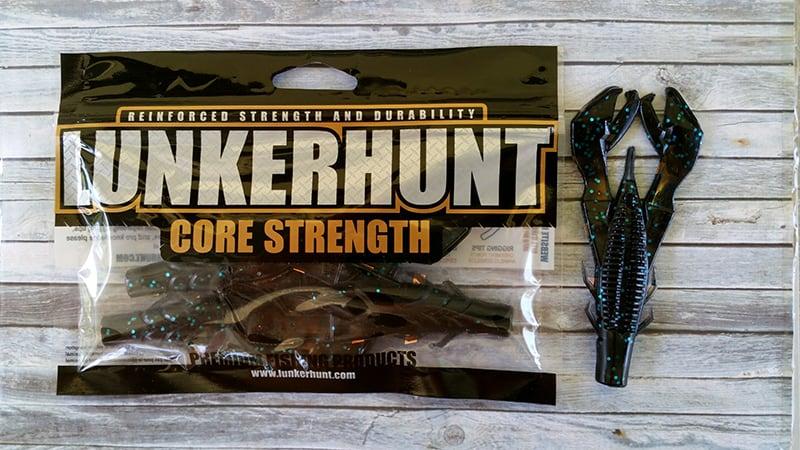 Lunkerhunt Black Blue Lunker Craws