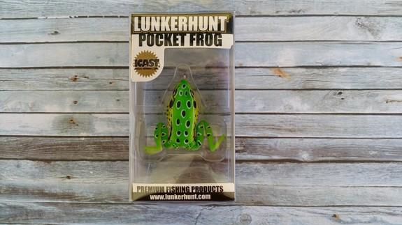 Lunkerhunt Pocket Frog Leopard