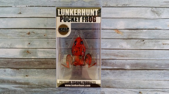 Lunkerhunt Pocket Frog Fire Belly