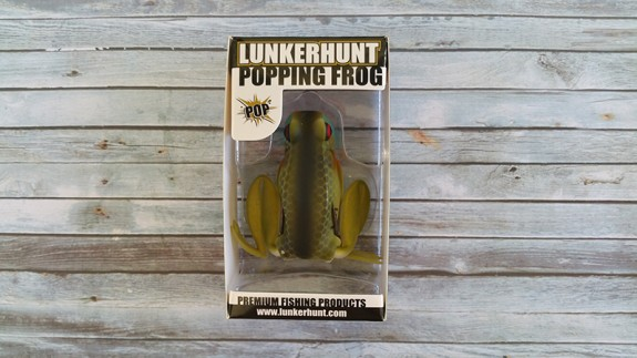 Lunkerhunt Popping Frog Blue Gill