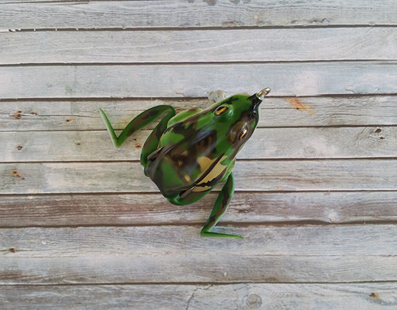 Lunkerhunt Combat Frog Green Tea
