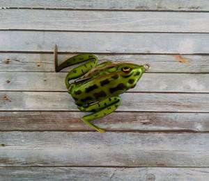 Lunkerhunt Lunker Frog Green Tea