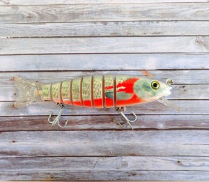 OBT Swimbait Bleeding Mullet MK2 Silver Tail Diver