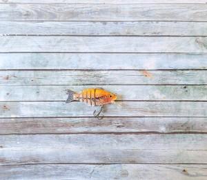 OBT Midget Swimbait Bibbed Yellow Fish