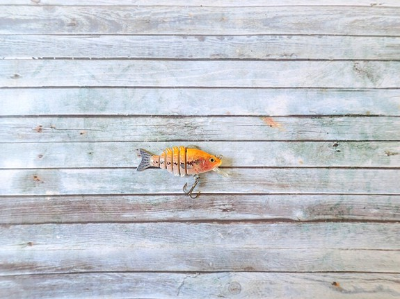 OBT Midget Swimbait Bibbed Yellow Fish