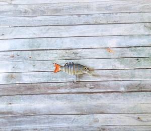 OBT Midget Swimbait Bibbed Orange Tail