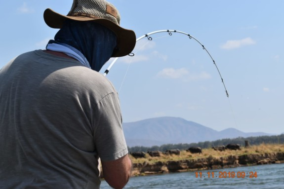 Fishing for South African Tiger Fish